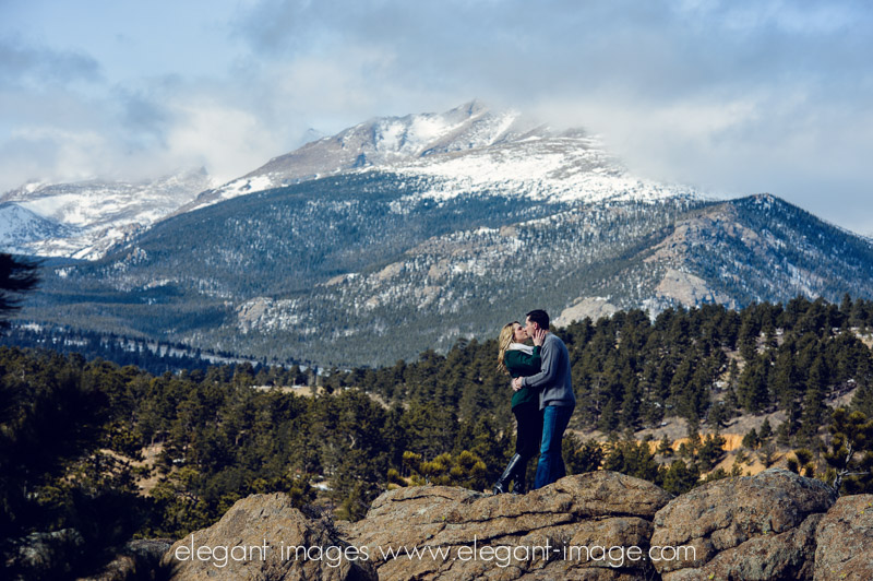 Rocky Mountain Engagement Photos_Elegant Images_0001