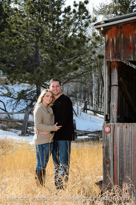 Rocky Mountain Engagement Photos_Elegant Images_0007